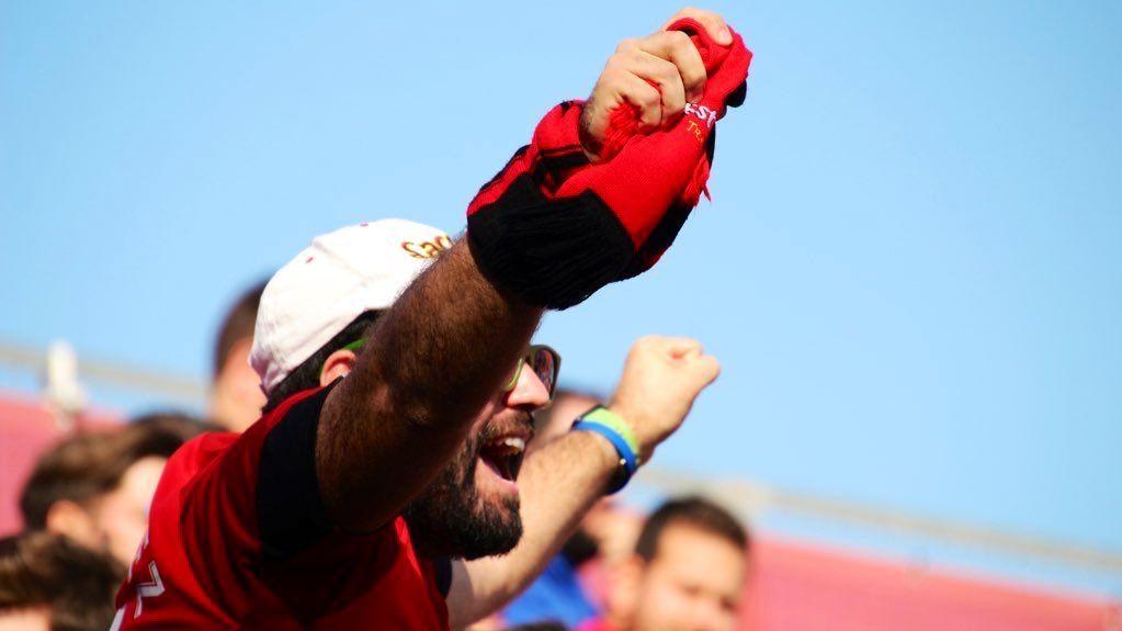 Sólo el 50% de aforo ante el Villarreal